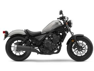 Honda Rebel ideal bobber for a beginner