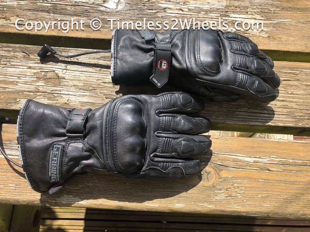 heated gloves with safety features
