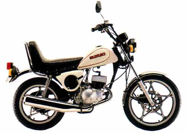 Suzuki OR50 mini chopper