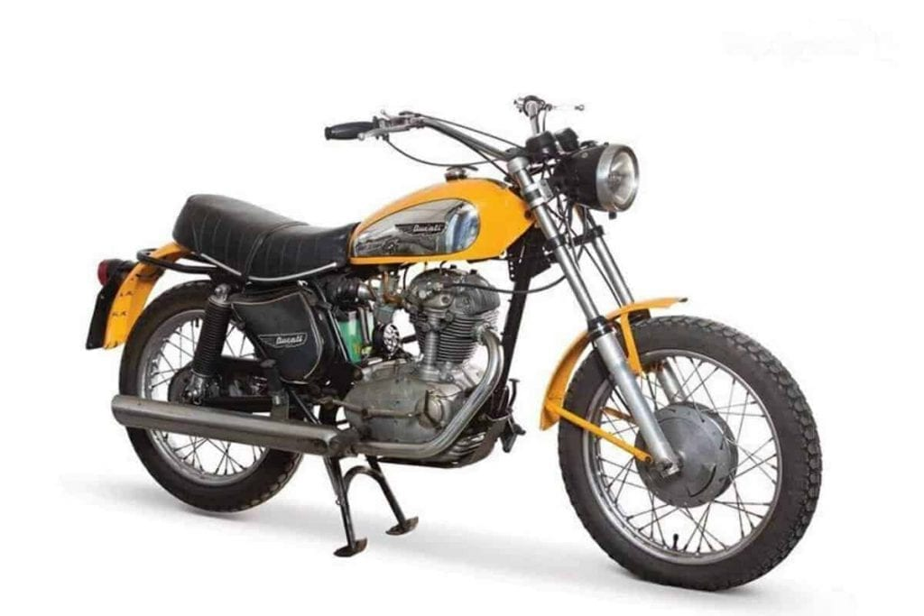 Ducati Scrambler classic is a popular choice for those seeking a vintage enduro motorcycle