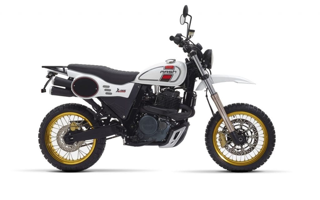 Mash motorcycles is a French company offering budget retro bikes