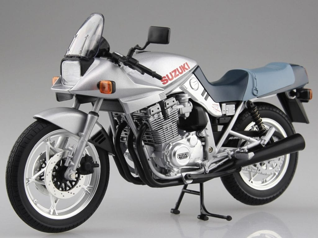 No other motorcycle of the 80s looked like the Suzuki Katana