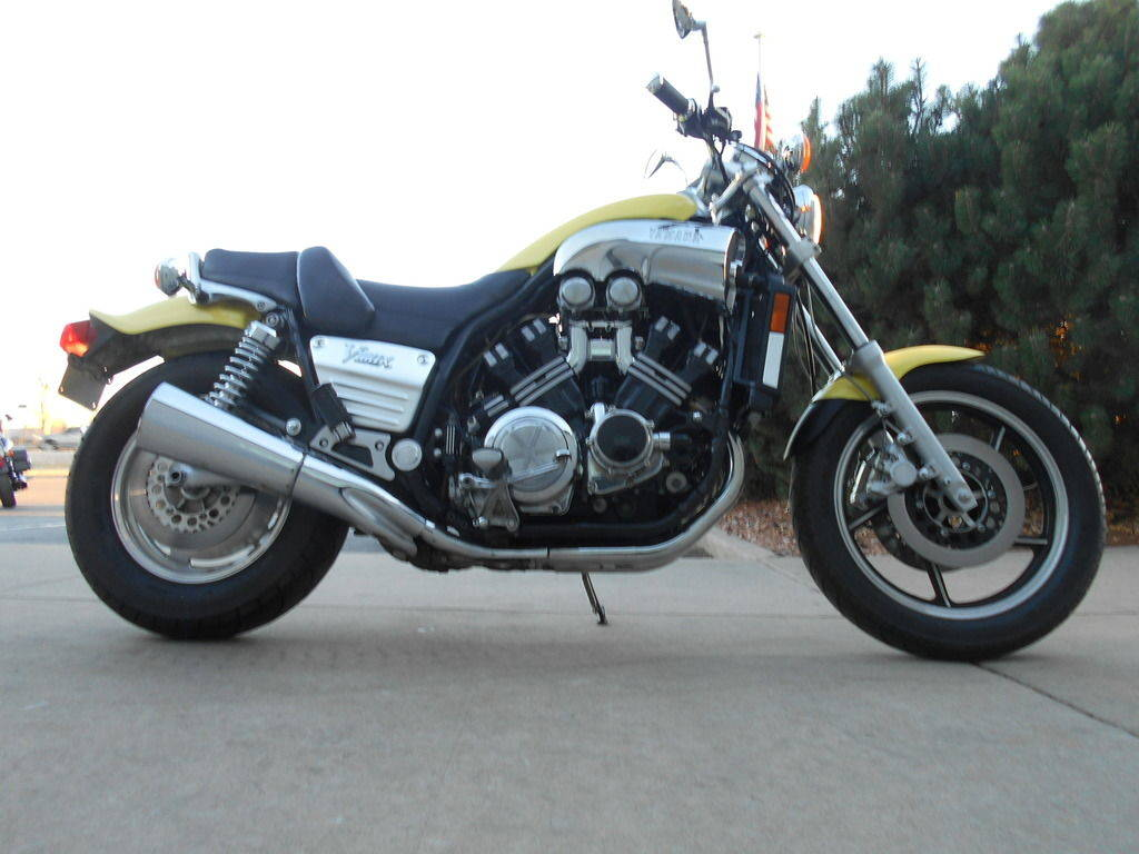 1985 Yamaha V-Max 1200 was the pick of the muscle bikes