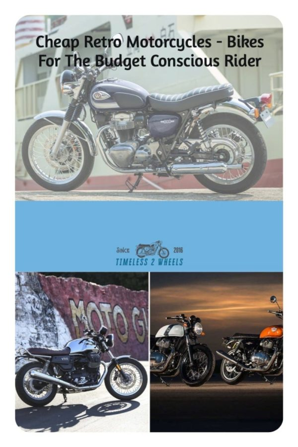 Cheap Retro Motorcycles - 8 Bikes For The Budget Conscious Rider