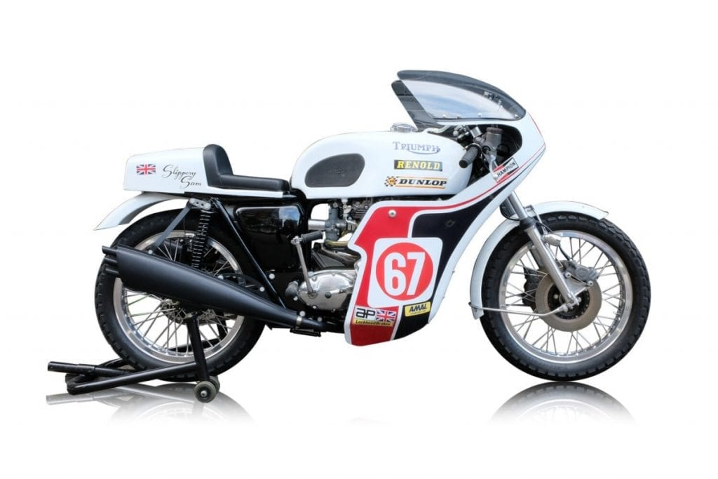 Slippery Sam was a racing version of the Triumph Trident 750
