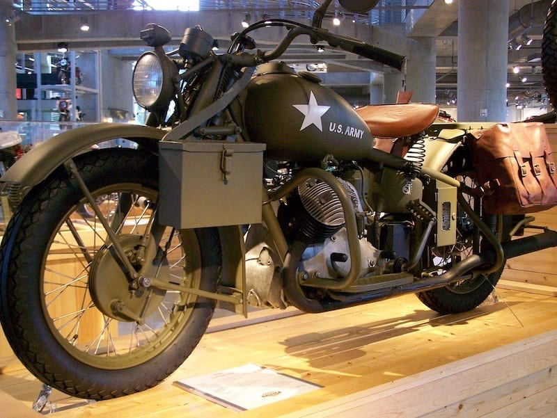 Indian 841 was a 1940s motorcycle built for the war effort