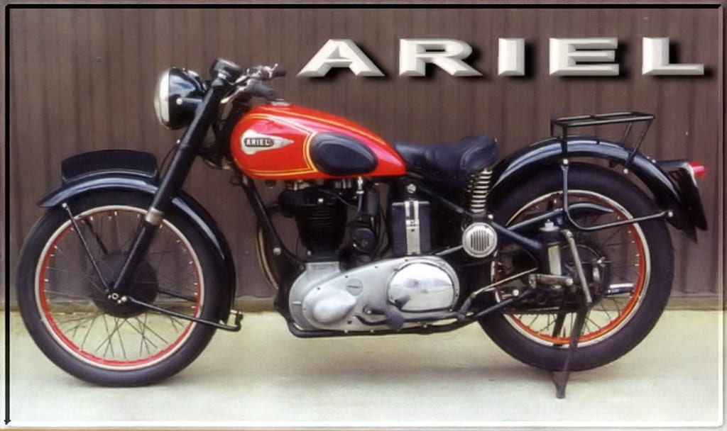 Ariel Red Hunter was one of the best motorcycles of the 30s