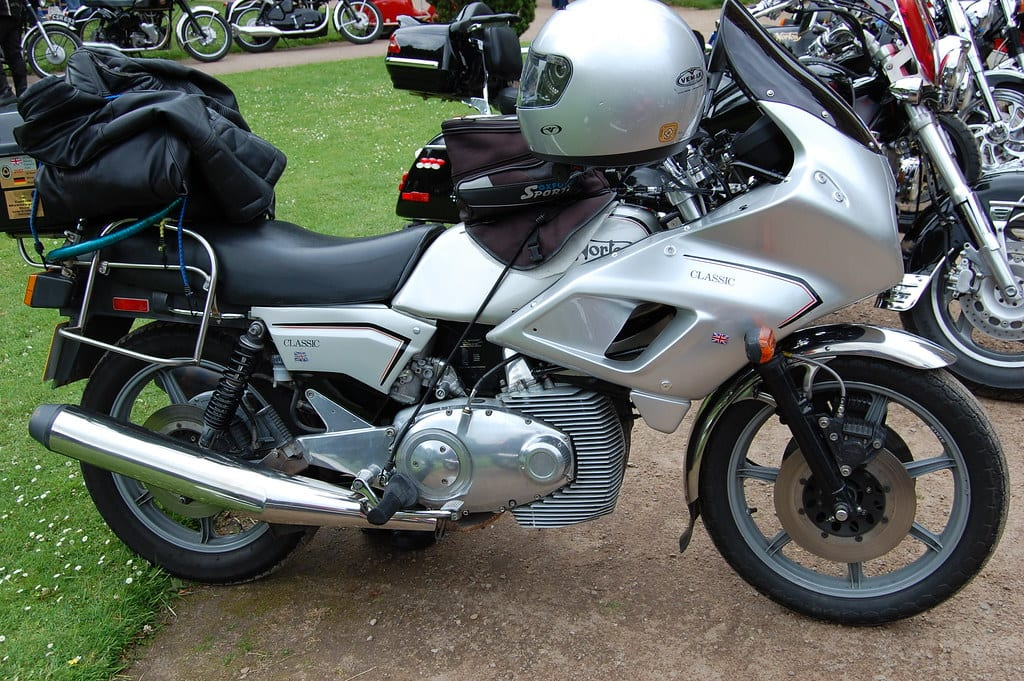 1987 Norton Classic with Wankel engine