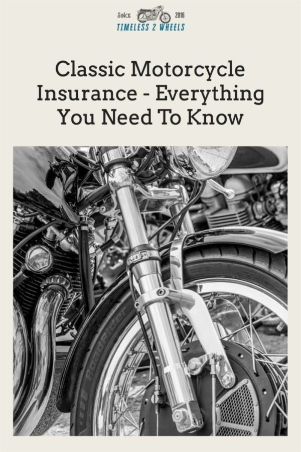 Classic Motorcycle Insurance - Everything You Need To Know