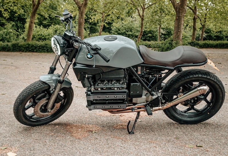 BMW K100 given the cafe racer treatment